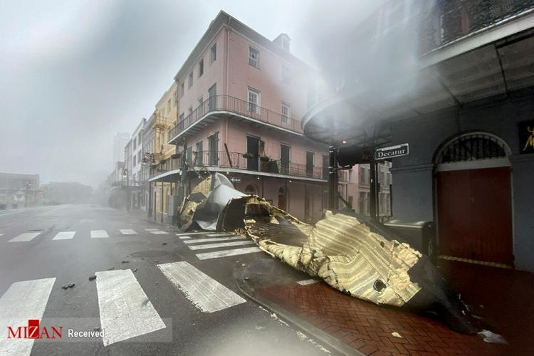 تصاویر طوفان آیدا,عکس هایی از طوفان آیدا,تصاویر خسارت طوفان آیدا به آمریکا