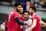 پیروزی والیبال برابر چین,ایران در فینال لیگ والیبال اسیا