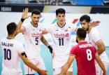 دیدار تیم ملی والیبال ایران و کره جنوبی,والیبال قهرمانی آسیا