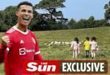 کریستیانو رونالدو,فرار کردن رونالدو از خانه اش به دلیل حضور گوسفندان