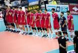 دیدار تیم ملی والیبال ایران و چین تایپه,مسابقات والیبال قهرمانی آسیا