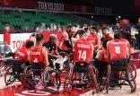 پارالمپیک ۲۰۲۰ توکیو,دیدار تیم ملی بسکتبال با ویلچر با استرالیا
