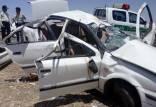 تصادف سه خودرو حامل اتباع افاغنه,حوادث جیرفت
