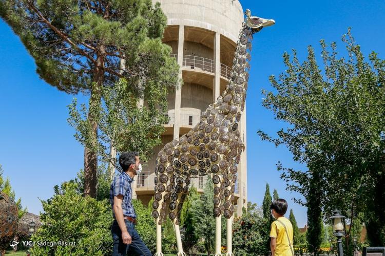 تصاویر باغ موزه فلزی ایران,عکس های حیات وحش فلزی,تصاویر حیات وحش فلزی ایران