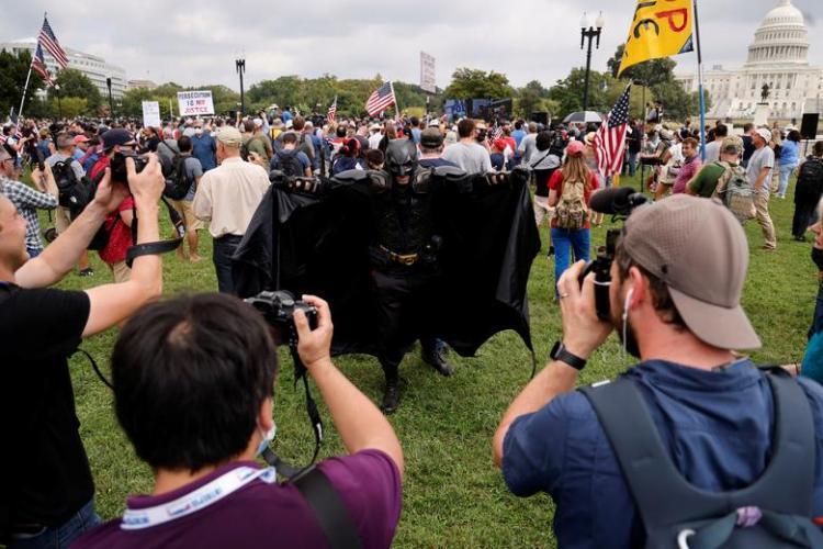 تصاویر تجمع اعتراضی هواداران ترامپ مقابل کنگره,عکس های اعتراضات هواداران ترامپ,تصاویری از تجمع هواداران ترامپ مقابل کنگره آمریکا