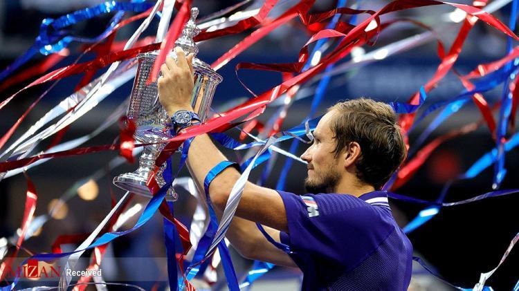 تصاویر فینال تنیس آزاد آمریکا 2021,عکس های دیدار فینال تنیس آزاد آمریکا 2021,تصاویری از فینال تنیس آزاد آمریکا