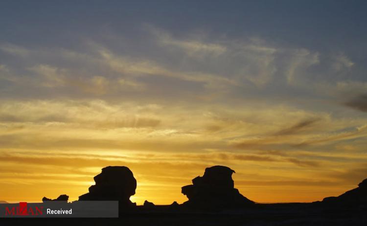 تصاویر صحرای سفید در مصر,عکس های صحرای سفید در مصر,تصاویری از صحرای سفید