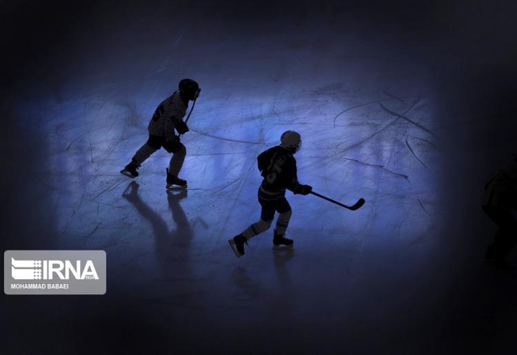 تصاویر تمرین تیم ملی هاکی روی یخ زنان ایران,عکس های تیم ملی هاکی روی یخ زنان,عکس های تمرینات تیم ملی هاکی روی یخ