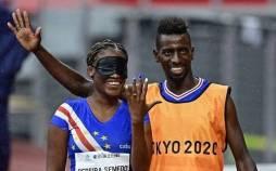 پارالمپیک ۲۰۲۰ توکیو,خواستگاری از دونده نابینا در پارالمپیک ۲۰۲۰