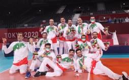 والیبال نشسته ایران,مدال طلای والیبال نشسته ایران