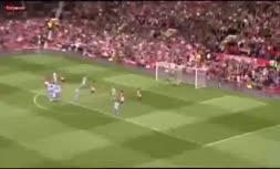 فیلم/ آخرین گل رونالدو با پیراهن منچستریونایتد در سال ۲۰۰۹