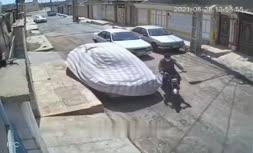 فیلم   سرقت مسلحانه یک موتور سیکلت کهنه در اهواز