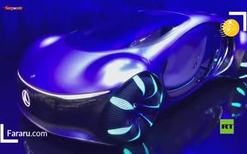 فیلم/ رونمایی از خودروی مفهومی مرسدس بنز در نمایشگاه مونیخ