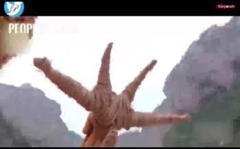 فیلم/ اژدهای ساخته شده از ذرت!