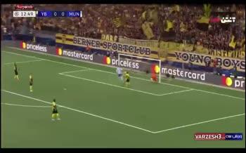 فیلم/ اولین گل رونالدو برای منچستریونایتد در لیگ قهرمانان اروپا
