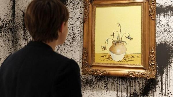 تابلو نقاشی از «بنکسی»,حراج تابلو نقاشی از «بنکسی»
