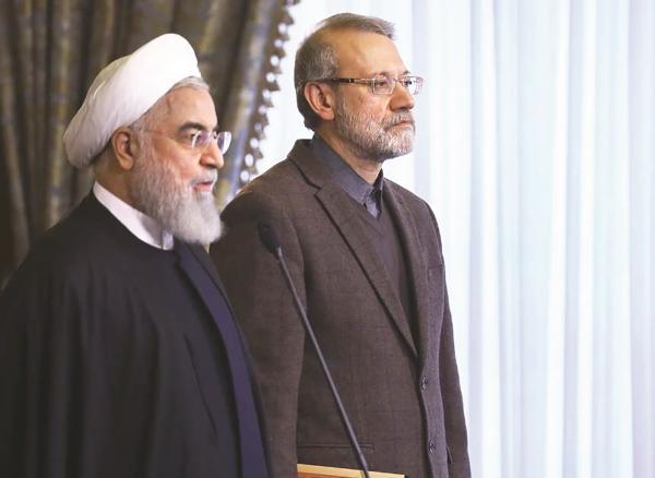 استعفای علی لاریجانی,قرارداد 25 ساله ایران و چین