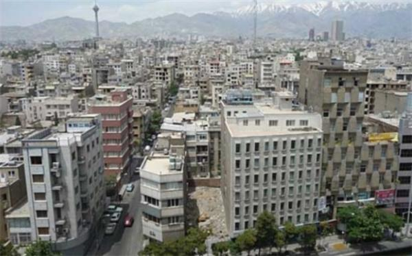 ساخت و ساز در تهران نسبت به سال قبل,کاهش ساخت و ساز در تهران