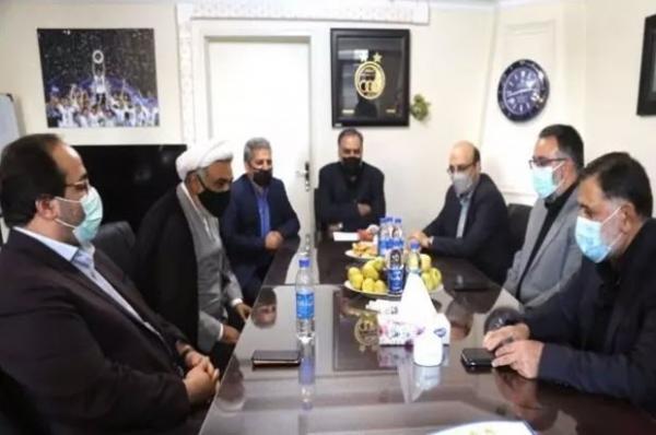 آجرلو در استقلال,برگزاری مراسم تودیع مددی و معارفه آجورلو در باشگاه استقلال
