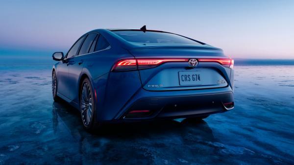تویوتا میرای,خودرو هیدروژنی