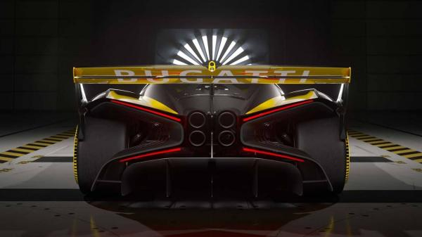 بوگاتی بولاید,لقب زیباترین هایپرکار جهان برای ابر خودرو بوگاتی بولاید