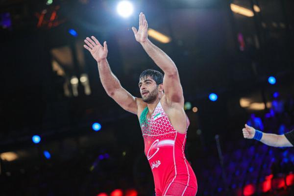 محمدهادی ساروی,مدال طلا محمدهادی ساروی در کشتی فرنگی قهرمانی جهان