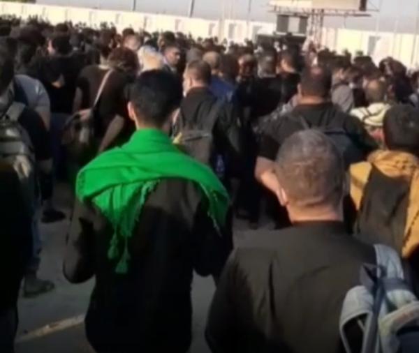 زائران در مرز شلمچه,حضور هزاران زائر در مرز شلمچه