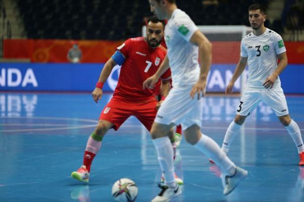 دیدار تیم ملی فوتسال ایران و ازبکستان,جام جهانی فوتسال 2021