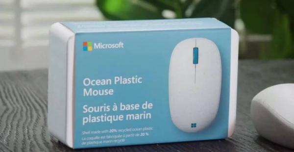 ماوس Ocean Plastic,ماوس جدید شرکت مایکروسافت