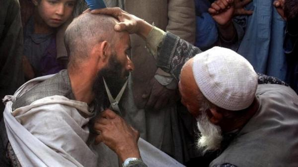ممنوعیت کوتاه کردن ریش در افغانستان,قوانین طالبان