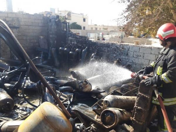 انفجار کارگاه شارژ سیلندر گاز در شيراز,حوادث شیراز