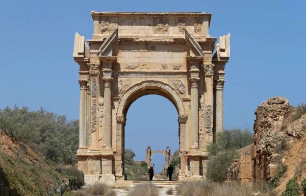 آثار به جامانده از تمدن رم,تمدن رم