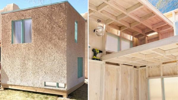 ساخت خانه مسکونی با استفاده از کاغذهای باطله,خانه مسکونی با کاغذ