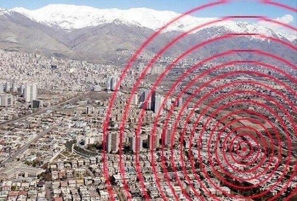 زلزله,تهران
