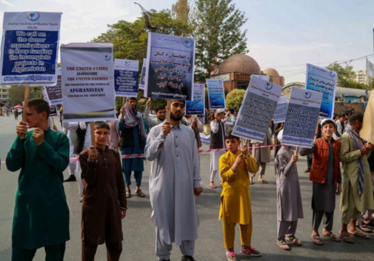 تصاویر تظاهرات ضد آمریکایی در حکومت طالبان,عکس های اعتراضات علیه آمریکا توسط طالبان,تصاویر اعتراضات علیه آمریکا در افغانستان