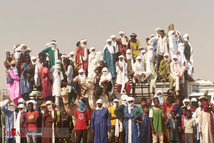 تصاویر مسابقه شتر سواری در صحرا,عکس هایی از مسابقه شتر سواری در صحرا,تصاویری از شتر سواری در نیجر