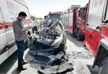 واژگونی آمبولانس در ایران, واژگونی مرگبار آمبولانس