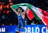 رکوردهای حسن یزدانی,حسن یزدانی مدال طلای جهان