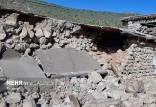 زلزله روستا در اندیکا,خسازت زلزله روستا در اندیکا