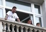 لیونل مسی,یورش سارقان نقاب دار به هتل لیونل مسی در پاریس