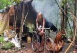 زندگی جنگلی مرد هندی