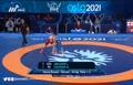 فیلم/ پیروزی میثم دلخانی مقابل حریف گرجستانی در فینال و کسب مدال طلای رقابتهای کشتی فرنگی قهرمانی جهان