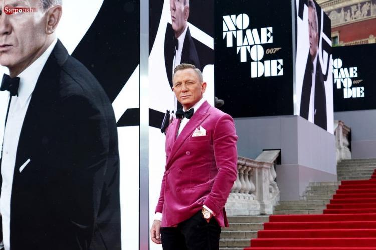 مراسم فرش قرمز فیلم No Time to Die World,تصاویر از فرش قرمز فیلم زمانی برای مردن نیست,تصاویر بازیگران در فرش قرمز فیلم زمانی برای مردن نیست