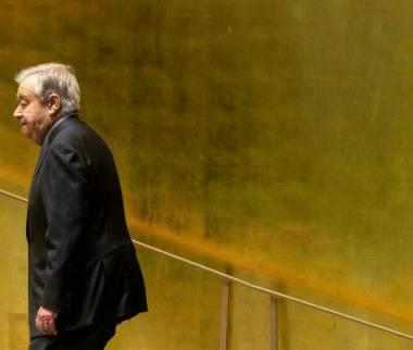 آنتونیو گوترش,دبیرکل سازمان ملل متحد
