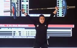 غزاله حسینی,مدال برنز غزاله حسینی