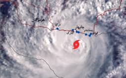 طوفان حارهای در سیستان و بلوچستان,طوفان در سیستان و بلوچستان