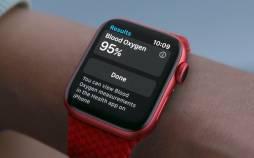 اپل واچ,سنسور اکسیژن در حد تجهیزات بیمارستانی برای اپل واچ سری ۶