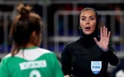 گلاره ناظمی,داور فینال فوتسال جام جهانی