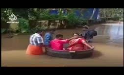 فیلم   عروس و داماد هندی سوار بر دیگ آشپزی به خانه بخت رفتند