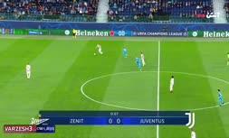 فیلم/ خلاصه دیدار یوونتوس 1-0 زنیت سنپترزبورگ با حضور سردرا آزمون (لیگ قهرمانان اروپا ۲۰۲۱)